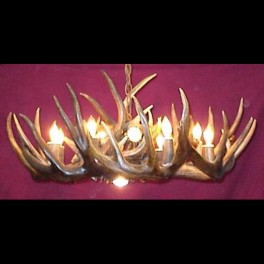 White Tail Chandelier 30in Diameter